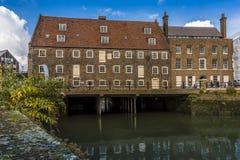 18 столетий, комплекс 3 мельниц, Лондон Стоковое Фото