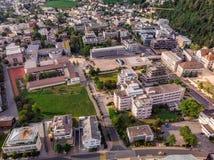 Столица Вадуц Лихтенштейна стоковые фотографии rf