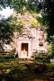 Столица всемирного наследия висков САМБО PREI KUH Chenla размещала в провинции Камбодже thom Kampong Стоковые Изображения RF