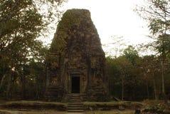 Столица всемирного наследия висков САМБО PREI KUH Chenla размещала в провинции Камбодже thom Kampong Стоковое Изображение RF