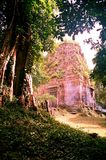 Столица всемирного наследия висков САМБО PREI KUH Chenla размещала в провинции Камбодже thom Kampong Стоковая Фотография