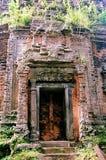 Столица всемирного наследия висков САМБО PREI KUH Chenla размещала в провинции Камбодже thom Kampong Стоковые Фотографии RF