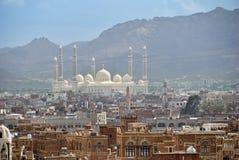 Столица Йемена, Sanaa Стоковое Изображение RF