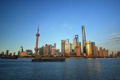 Столица китайской экономики стоковое изображение