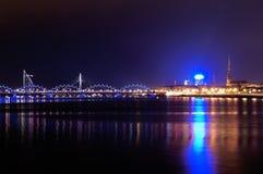 Столица Латвия Стоковая Фотография
