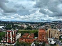 Столица Pereira Колумбия стоковое фото rf