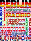 столицы европа Стоковое Изображение RF