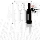 столкновение бутылки Стоковое Изображение
