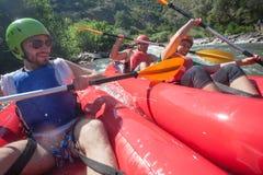 Столкновение реки каное стоковые изображения rf