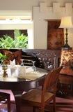 столовая стиля Арт Деко стоковая фотография
