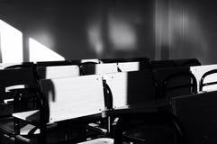 Столы школы стоковое изображение rf