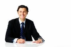 стол бизнесмена Стоковое Изображение RF