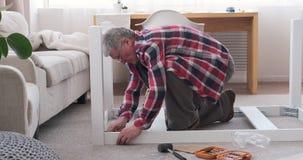 Стол для сборки плотника дома акции видеоматериалы