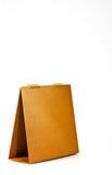 стол календара банка коричневый Стоковые Изображения