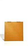 стол календара банка коричневый Стоковые Фотографии RF