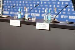 Стол переговоров Berlinale Стоковая Фотография