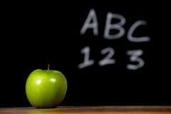 стол яблока Стоковая Фотография