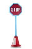 стоп дорожного знака Стоковое фото RF