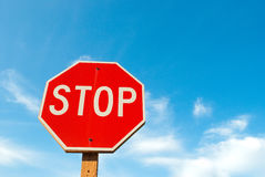 стоп знака Стоковое Фото