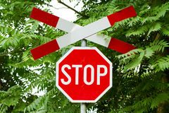 стоп знака Стоковые Фотографии RF