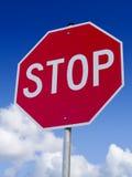 стоп знака стоковая фотография rf