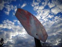 стоп знака Стоковые Изображения RF