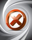 стоп иконы 3d Стоковые Фото