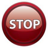 стоп кнопки Стоковое Изображение