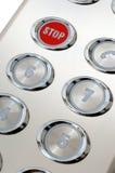 стоп кнопки Стоковое Фото