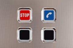 стоп кнопки Стоковые Изображения