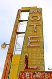 стоп дороги кафа 66 bagdad исторический Стоковая Фотография RF