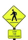 стоп пешеходов Стоковое Изображение RF