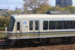 стоп поезда на станции Киото Стоковая Фотография RF