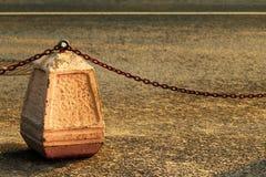 Стоп-цепи на случайной дороге стоковые фото
