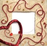 сторновка сердца рамки Стоковые Изображения RF
