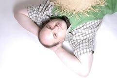сторновка человека шлема Стоковые Изображения RF