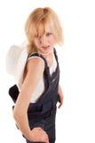 сторновка шлема пастушкы ковбоя сексуальная Стоковая Фотография