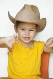 сторновка шлема ребенка Стоковые Фото