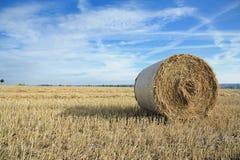 сторновка bale круглая Стоковые Фотографии RF