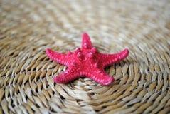 сторновка starfish циновки красная стоковое фото rf