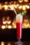 сторновки красного цвета коктеила Стоковая Фотография