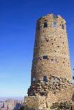 сторожевая башня взгляда пустыни Стоковое Фото