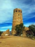 сторожевая башня взгляда пустыни каньона грандиозная Стоковое Изображение