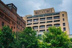 Сторожевая башня, в DUMBO, Бруклин, Нью-Йорк стоковые фотографии rf