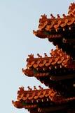 сторожевая башня запрещенная городом Стоковые Фотографии RF