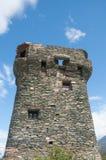 Сторожевая башня, Корсика, Франция Стоковое Изображение