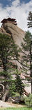 сторожевая башня панорамы Стоковые Фотографии RF