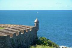 Сторожевая башня старый Сан-Хуан Стоковые Изображения RF