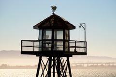 Сторожевая башня Alkatraz Стоковое Изображение