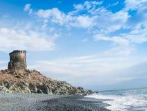 Сторожевая башня, Corse, Франция Стоковое Фото
